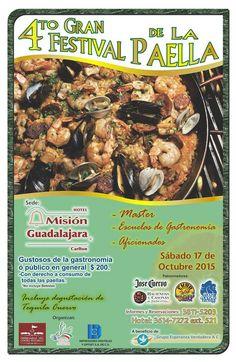 4to. Gran Festival de la Paella #Guadalajara | Curiosidades Gastronómicas