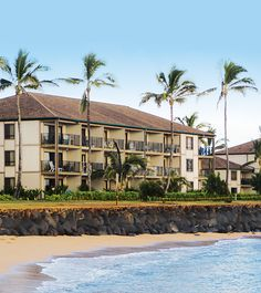 Oceanfront at the Pono Kai Resort in Kauai, Hawaii - a Bluegreen Vacations resort. #BluegreenResorts #BluegreenVacations