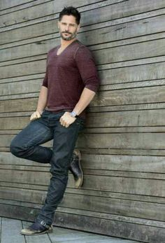 Joe Manganiello, nuff said Joe Manganiello, Hottest Guy Ever, Hottest Guys, Evolution Of Fashion, Hollywood Actor, Good Looking Men, Perfect Man, Jeans Fit, Sexy Men