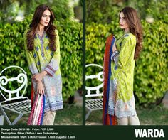 Warda Introducing Embroidered Eid Collection 2016 | PK Vogue
