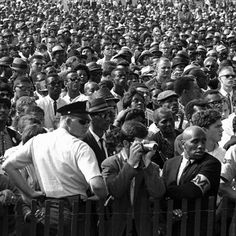 Five thousand police officers, Army Reserve soldiers, and National Guardsmen were present at the 1963 March on Washington, but there were no major incidents or arrests. Help honor this peaceful march for equality by joining the March on Washington Stamp Mosaic now: http://hsht.ag/g6i #MyMarch