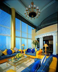 interior design | Tumblr Dubai hotel suite