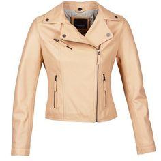 Vestes+en+cuir+/+synthétiques+Oakwood+61850+Beige+179.00+€