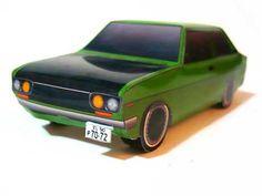 Simple 1972 Nissan Bluebird Datsun 510 Paper Car Free Vehicle Paper Model Download - http://www.papercraftsquare.com/simple-1972-nissan-bluebird-datsun-510-paper-car-free-vehicle-paper-model-download.html#Bluebird, #Car, #Datsun510, #DatsunBluebird, #Nissan, #NissanBluebird, #PaperCar, #VehiclePaperModel