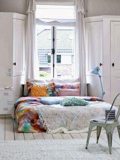 Coloque a cama no chão e relaxe | Cozinhas Itatiaia