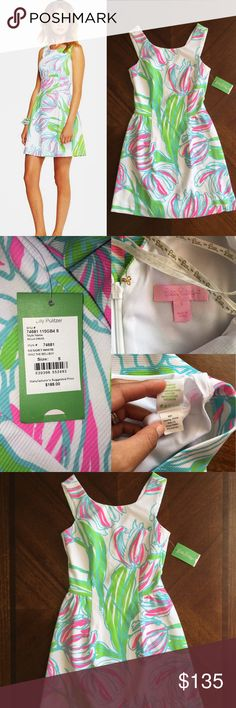 $188 Lilly Pulitzer Bella dress Bella dress Resort White Ring The Bellboy size small retail price $188, get this gorgeous dress and be ready to be the star ✨! Lilly Pulitzer Dresses