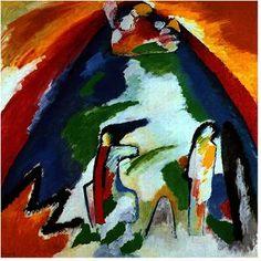 Wassily Kandinsky - A mountain