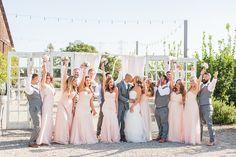 Photography: Candice Benjamin Photography - www.candicebenjamin.com  Read More: http://www.stylemepretty.com/california-weddings/2015/06/12/rustic-romantic-spring-wedding-at-dana-powers-house/