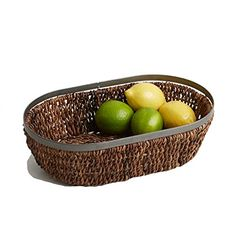 Woodard  Charles Abaca Metal Trim Oval Basket 13Inch *** Read more  at the image link.  This link participates in Amazon Service LLC Associates Program, a program designed to let participant earn advertising fees by advertising and linking to Amazon.com.