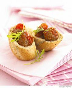 Italian-Style Mini Meatballs | Kid-Friendly Finger Foods - Parenting.com
