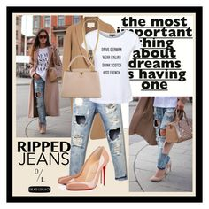 """""""Dead Legacy and Ripped Jeans"""" by dead-legacy ❤ liked on Polyvore featuring Kershaw, Alexander Wang, Dead Legacy, Vince Camuto, Louis Vuitton, rippedjeans, autumnstyle, deadlegacy and autumn2015"""
