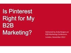 Pinterest and B2B marketing