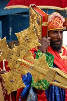 Ethiopia - Addis Ababa, Ethiopia - Meskel Celebration
