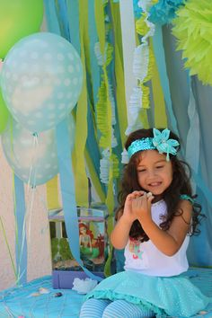 Fun mermaid party for your little one