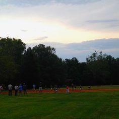 @James baseball game Taken by Sarah