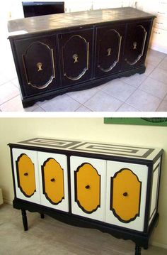 Awesome refurbished furniture!