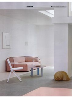 Moroso - MASSAS in pink w/ the Haze table by Wonmin Park - yummy