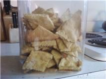 Shelf Stable Recipes: Peanut Butter Dog Treats. USE WHEAT FLOUR & Sub. olive oil for veg. oil