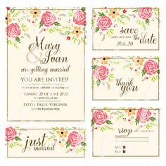 "Only 4.99 USD  Wedding invitation, ""Bridal shower announcement"", ""Save the Date card"", ""Wedding name card"", ""Thank you card"","