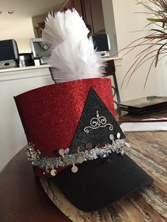 Quick marching band hat
