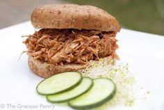 Clean Eating Slow Cooker Pulled Pork Sandwiches Recipe on Yummly. @yummly #recipe