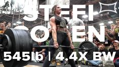Stefanie Cohen, arguably the strongest woman on the planet, pulls a deadlift PR in the Cage at The Arnold in Columbus, Ohio. Workout Guide, Workout Videos, Strong Women, Fit Women, Muscular Endurance, Life Video, Music Publishing, Body Weight, Bodybuilding
