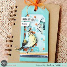 Bird crazy shaker tag!