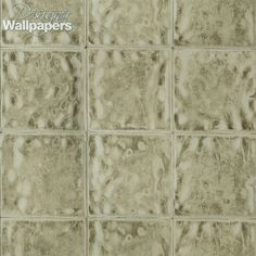 A unique, glazed, metallic tile wallpaper, offering a stunning reflective effect. This striking design comes in a range of both vivid and neutral colours, and is foil printed on non-woven backed vinyl. It has incredible depth of feel and durability, and is extra washable.
