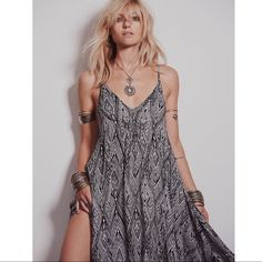 Free People Intimately Knot For You Slip Dress