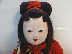 Japanese gofun Ichimatsu sitting girl Fitted glass eyes Kimono Meji Very rare!! | Antiques, Asian Antiques, Japan | eBay!