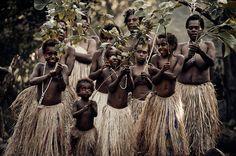 Yakel villagers on Tanna Island