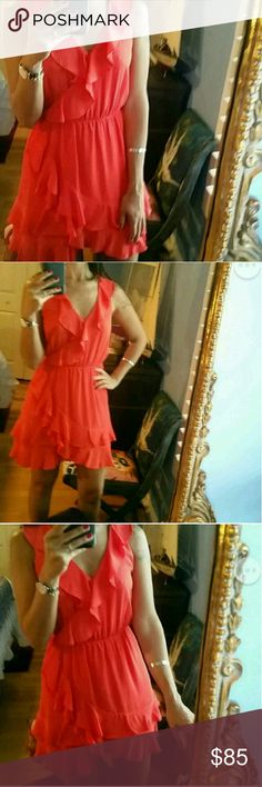 Anthropologie red dress polka Like a new is small fits medium too.I love this dress very elegant Anthropologie Dresses