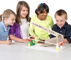 Pitsco's elementary STEM products, activities, and curriculum encourage students to think, create, analyze, evaluate, and apply new knowledge. We believe that the ultimate solution is engaged students excited about learning. #PitscoEducation #STEM