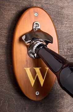 CATHY'S CONCEPTS Personalized Wall Mounted Bottle Opener available at #Nordstrom