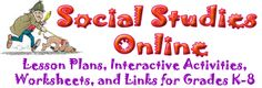 Social Studies Online..if you need a lesson plan for social studies, this is the place to go!