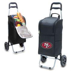 San Francisco 49ers Black Cart Cooler