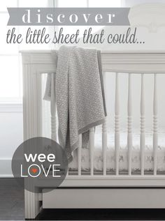 Your favorite bedding is now in the nursery! Soft and cozy sheets for babies and tots from Boll & Branch.