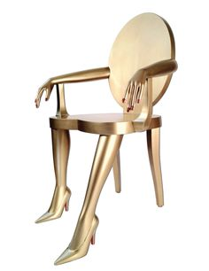 Golden Titi Chair. I'm not even sure why I like this, I just do. Don't judge me....