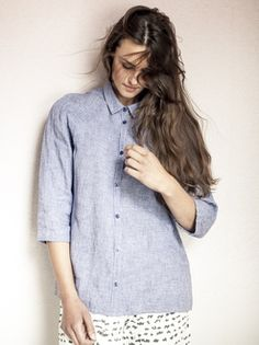 Stina linen shirt