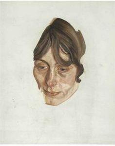 Girl's Head - Lucian Freud