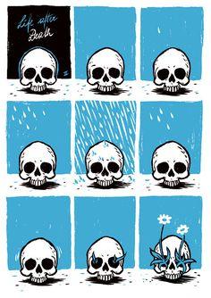 Life After Death, atheist meme