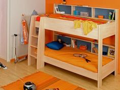 Cool Kids Bunk Beds with Stairs