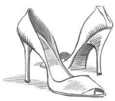 chaussure talon dessin - Recherche Google
