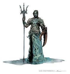 John-Paul Balmet: Last of the Princes of the Apocalypse Sketches Fantasy Races, High Fantasy, Fantasy Art, Dnd Characters, Fantasy Characters, Fantasy Creatures, Sea Creatures, Stop Motion, Dungeons And Dragons 5e
