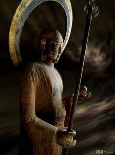福島県 勝常寺 地蔵菩薩像 * Bodhisvistta Ksitigarbha, (jizo)