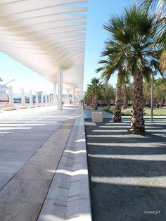 Punto de fuga. Muelle Uno, Málaga