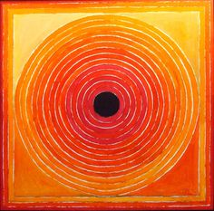 "S. H. Raza / ""My work is my own inner experience and involvement with the mysteries of nature and form which is expressed in colour, line, space and light"""
