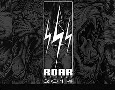 "Check out new work on my @Behance portfolio: ""RBST stuff (ROAR series 2014)""…"