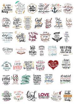 Cricut Fonts, Svg Files For Cricut, Cricut Tutorials, Cricut Creations, Svg Cuts, Cricut Design, Planner Stickers, Journaling, Doodles