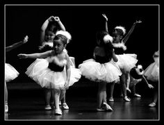 Little Beautiful Ballerinas by Chicago Love, via Flickr